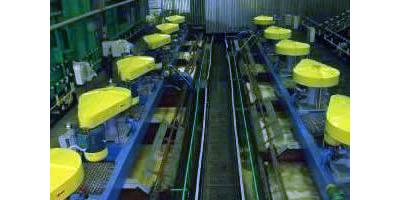 SF型自吸空氣機械攪拌浮選機