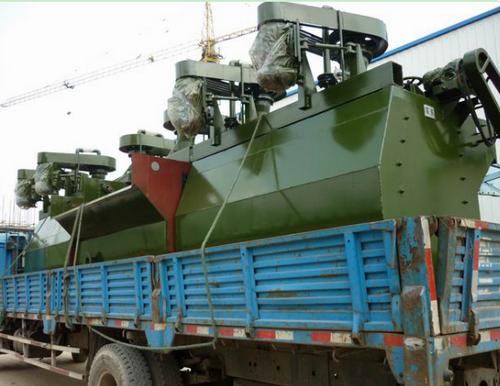 金礦選礦設備SF系列浮選機組成用途