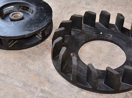 浮選機葉輪蓋板等備件耐磨問題