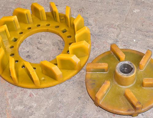 聚氨酯浮選機葉輪蓋板澆註的常見方法